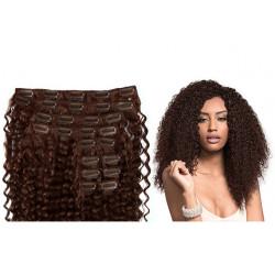 Extension cheveux à clips naturelle
