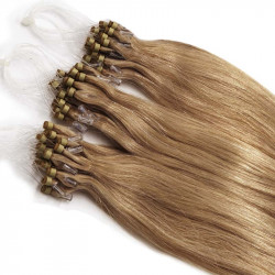 Extensions à loops blond doré